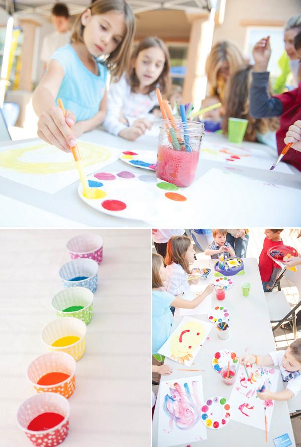 rainbow-paint-party-artist-tools
