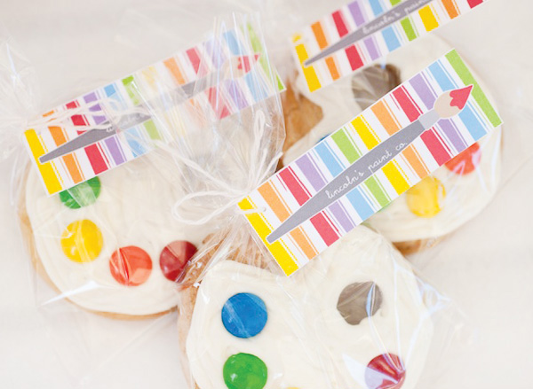rainbow-paint-party-cookies