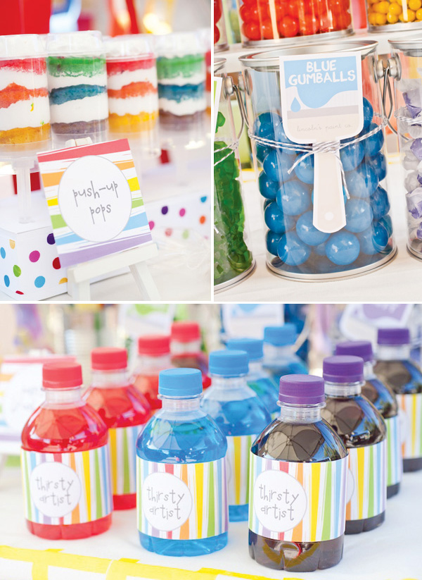 rainbow-paint-party-drink-labels